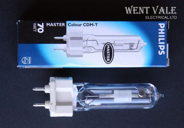 Philips Master Colour CDM-T 70W/942 Lamp G12 Base